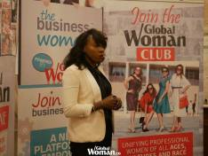 GW Club London Dec 2017 Marie-France speaking